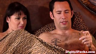 Mature monsterboob cocksucking superslut lark