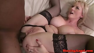 Interacial bigtitted adult lady analized