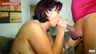LETSDOEIT - Mature German Wife Fucked Hardcore hard by Her Lover