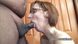 Horny housewife Layla Redd is smudged a lady's man she only met