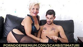 SCAMBISTI MATURI - Hardcore ass fucking with Italian bazaar granny Shadow