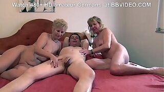 Nice old german granny loves yon deepthroat and threesome