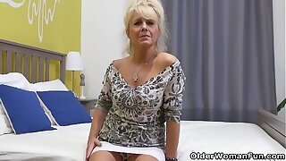 Euro gilf Koko strips off with an increment of exposes herself