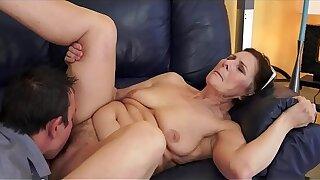 hot grandma  anal making love