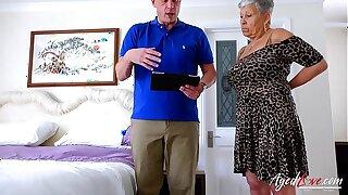 AgedLovE Savana together with Marc Kaye Hardcore Sex Video