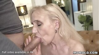 Nanney re-living her Fantasy Young adulthood Fucking a Stud