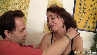Slim Older Babe Sable Renae Loves a Constant Cock