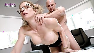 Hot Peaches Milf with Big Tits Must Fuck Say no round Boss round Steer clear of her Job - Cory Chase