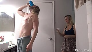 Mom Gives Son Viagra - Fifi Foxx increased by Cock Ninja