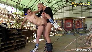 MAMACITAZ - Hot MILF Pamela Sanchez Rides A Big Cock Outdoor