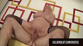 Golden Old bag - Gorgeous Super Grandma Cala Craves Compilation Part 3