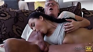 DADDY4K. Cock be advisable for mature dad satisfies girl's need forth good dicking
