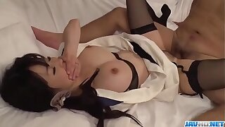 Spicy Yui Satonaka gets cock to each of her holes  - To at one's disposal javhd.net