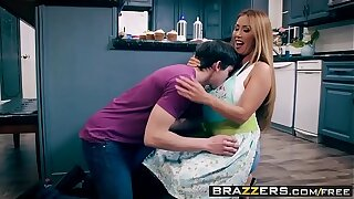 Brazzers - Mother Got Boobs -  Bake Sale Burgeoning scene starring Kianna Dior and Alex D
