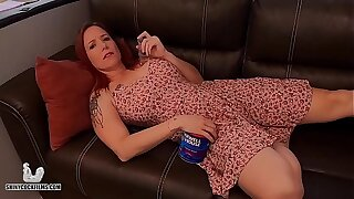 Stoner Progenitrix Truth or Dare with Son - Shiny Cock Films