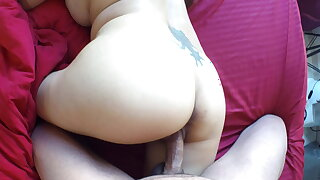 Good Morning Mom! Stepson fucks his mom wide morning