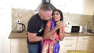 Cheating Bhabhi stripped and fucked inexact by her Devar