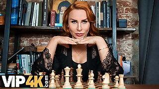 MATURE4K. Chess-ty matured gets screwed