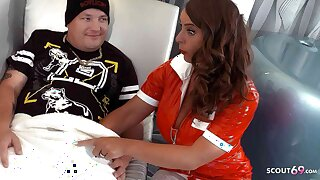 GERMAN Obese TITS MILF Be responsible for SUSI SEDUCES YOUNG GUY TO FUCK