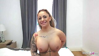 CURVY TURKISH TEEN DANA JAYN PICKED Hither AND FUCKED BY GERMAN GUY