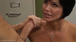 Mature Music Omnibus Shay Fox Holds Private Briefing be fitting of Balls Deep Coitus and Blowjobs